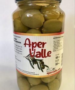 aceituna gordal con sabor anchoa