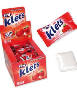 Chicle Klet´s Fresa